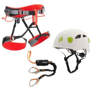 HARNAIS - BAUDRIER Pack Via Ferrata Black Diamond EASY RIDER