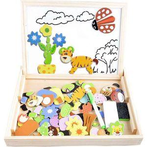 PUZZLE Puzzles Enfant en Bois Magnétique, COOLJOY Jigsaw