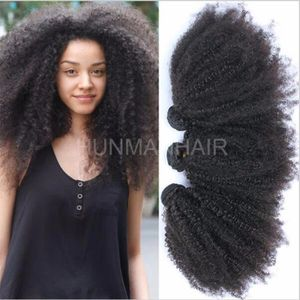 PERRUQUE - POSTICHE 3 Tissages cheveux Indien remy hair afro kinky cur
