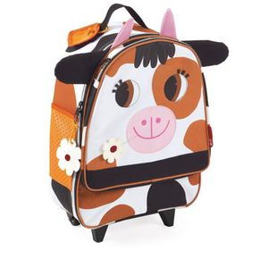 VALISE - BAGAGE JANOD Valise A Roulettes Vache