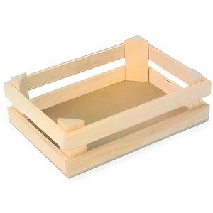 CAISSE BOIS Lot de 3 petites caisses en bois pour marchande
