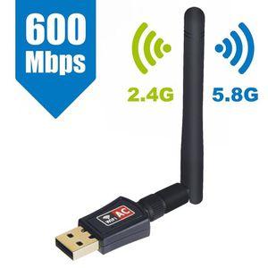 CARTE RÉSEAU  Maxesla Clé WiFi AC600 Dual Bande 5G 433Mbps 2.4G