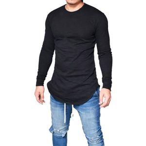 t-shirt homme long