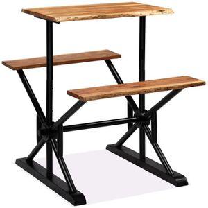 MANGE-DEBOUT Table de bar Table Haute, Table de Jardin,avec ba