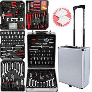 PACK OUTIL A MAIN Boîte à outils 399 pièces Boîte à outils Coffret à