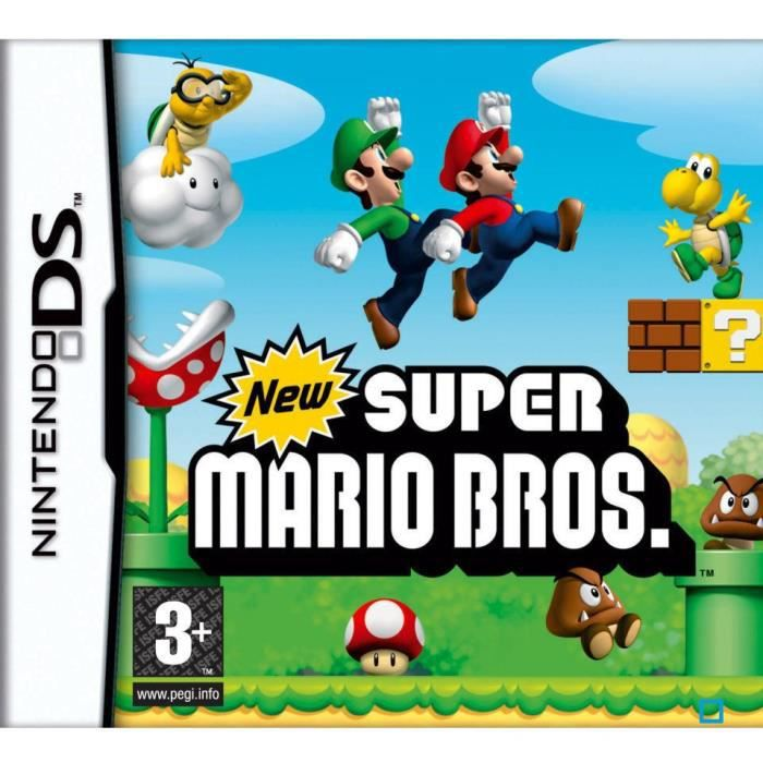 new super mario bros jeu console ds achat vente jeu ds dsi new super mario bros jeu ds. Black Bedroom Furniture Sets. Home Design Ideas