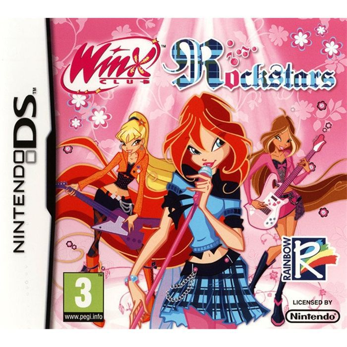 winx rockstars jeu console ds achat vente jeu ds dsi winx rockstars jeu ds cdiscount. Black Bedroom Furniture Sets. Home Design Ideas