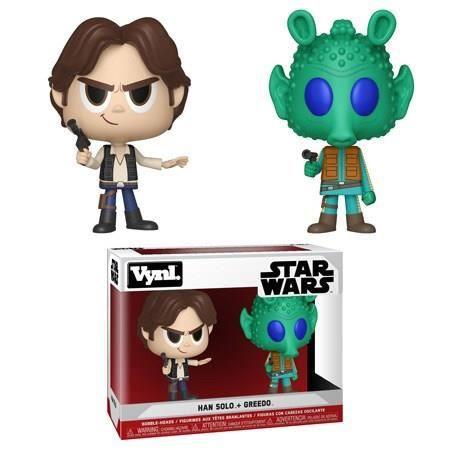 Figurine VYNL Star Wars - Han Solo & Greedo