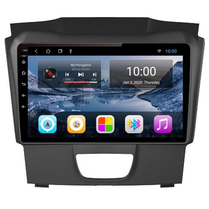 RoverOne Autoradio GPS Bluetooth pour Isuzu D-MAX DMAX 2015-2018 Android Stéréo Navigation WiFi Écran Tactile