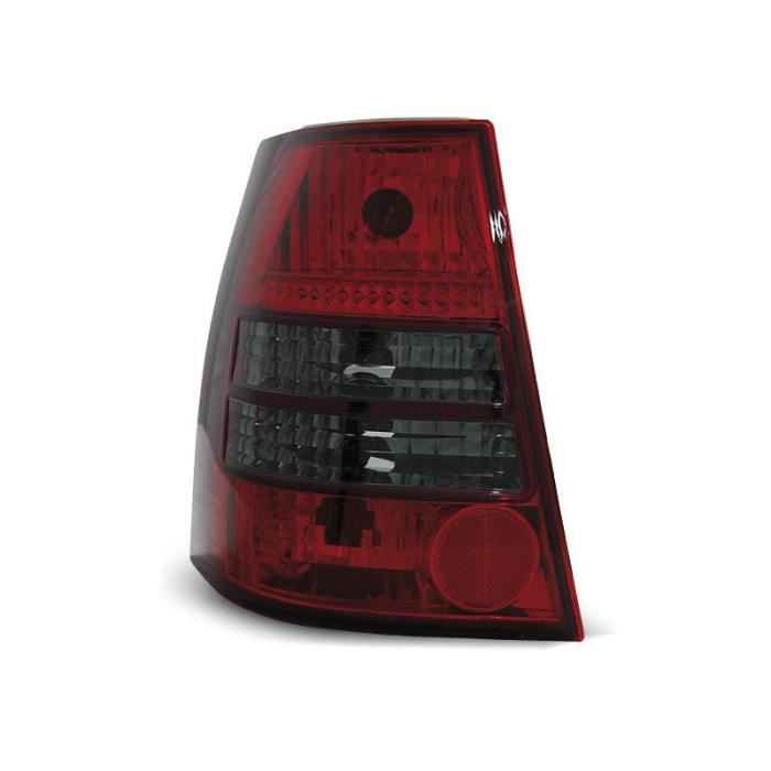 Paire de feux arriere VW Bora 99-06 rouge fume W94