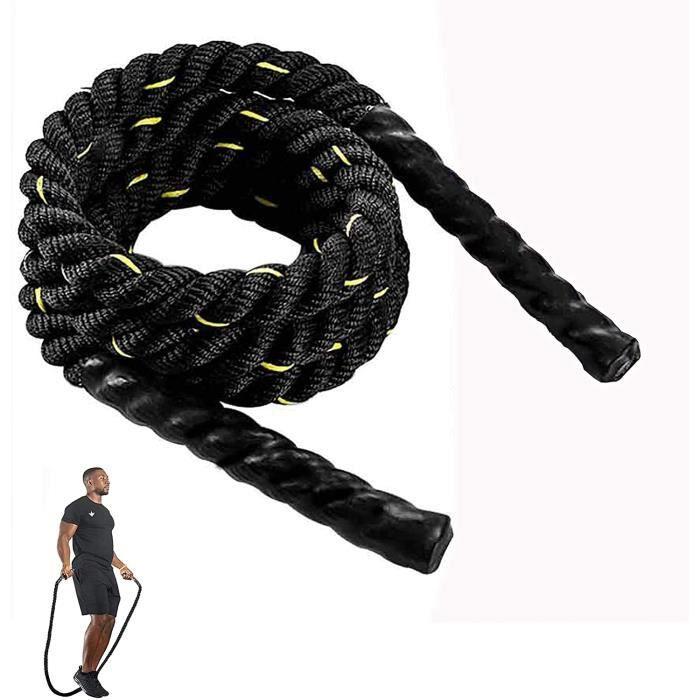 Tonyko - Corde à sauter lourde, corde à sauter lestée (2,5 cm x 2,7 m)