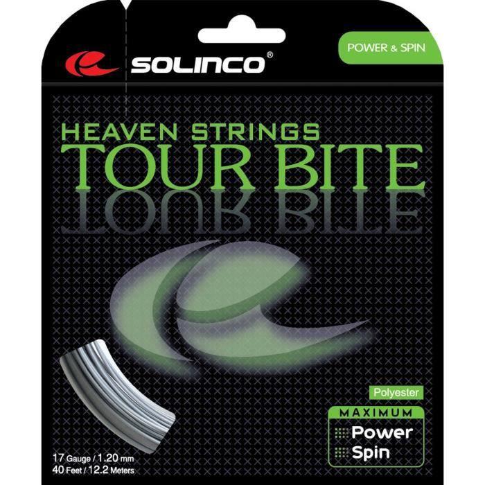 Solinco Tour Bite 12m - Couleur:Gris Jauge:1.35