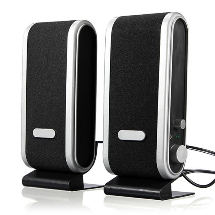 AVANC Enceintes Ordinateur USB Haut-Parleur Stéréo MP4 MP3 DC 5V Pr PC Laptop Notebook