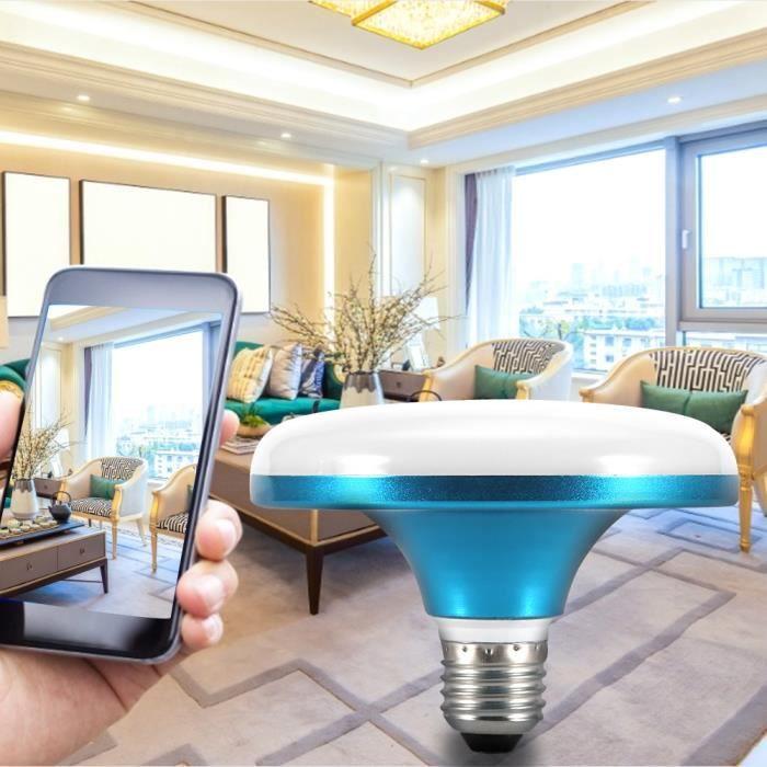 Ampoule de Soucoupe Volante Lampe de Soucoupe Volante LED à Économie d'énergie à Haute Puissance 18W 6500K Blanc Froid HB022