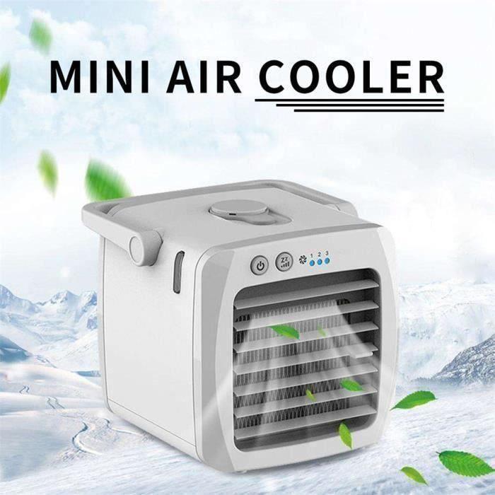 CLIMATISEUR MOBILE Mini Climatiseur mobile Ventilateur portable USB R
