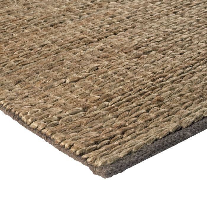 tressage tapis jute marron 160x230 achat vente tapis. Black Bedroom Furniture Sets. Home Design Ideas