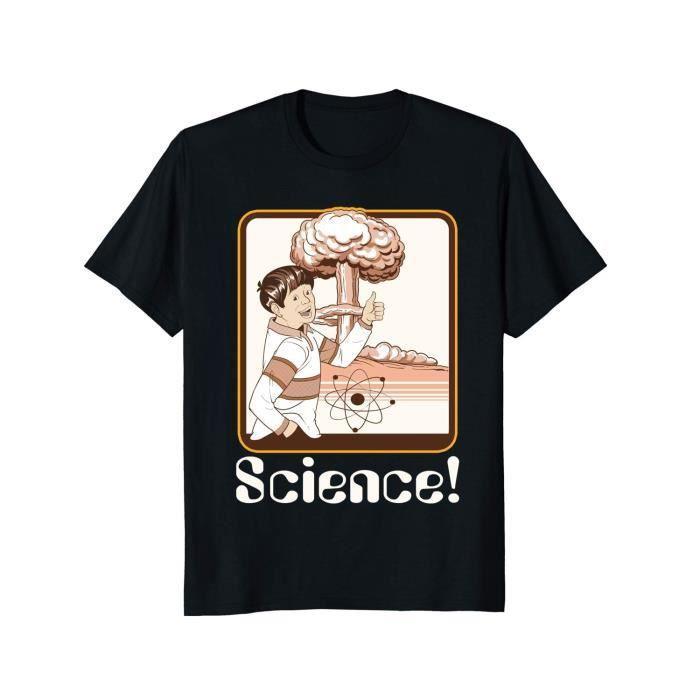 T-SHIRT Été t-shirts cadeau de science vintage t-shirt à m