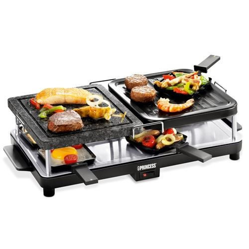 set raclette pierrade funcooking princess achat vente appareil raclette cdiscount. Black Bedroom Furniture Sets. Home Design Ideas