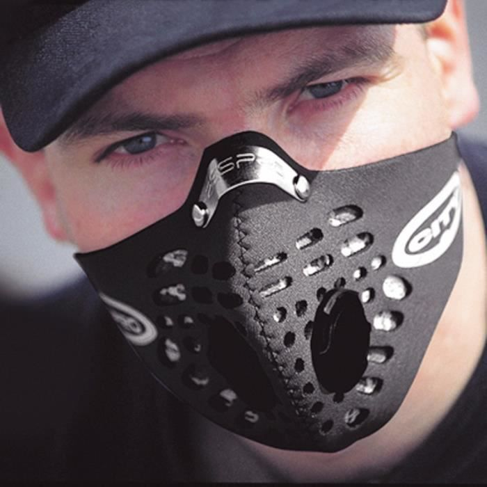 masque velo anti pollution blanc
