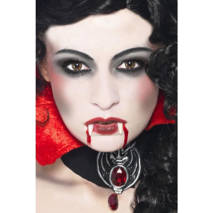 Kit Maquillage De Vampire Horreur Achat Vente Maquillage Cdiscount