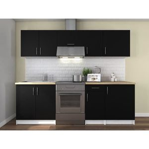 cuisine compl te achat vente cuisine compl te pas cher cdiscount. Black Bedroom Furniture Sets. Home Design Ideas