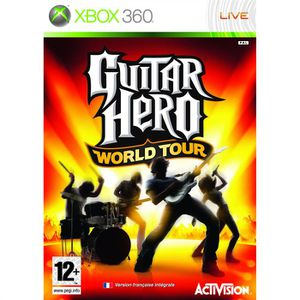 JEUX XBOX 360 GUITAR HERO WORLD TOUR / JEU CONSOLE XBOX360