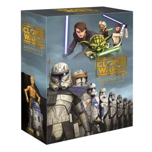 DVD FILM DVD Coffret star wars: the clone wars - Saisons 1