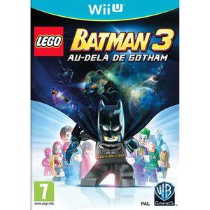 JEU WII U Lego Batman 3 Au Delà de Gotham Jeu Wii U