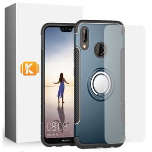 COQUE - BUMPER Pack Huawei P20 Lite - 1 Coque Aromr Support + 1 V