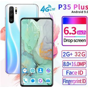 SMARTPHONE Blanc -P35 Plus 6.3