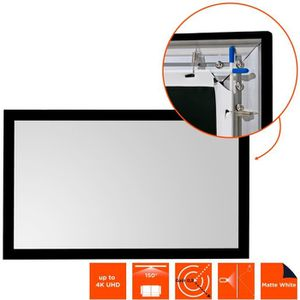 ECRAN DE PROJECTION Ecran de projection sur cadre mural ivolum 240 x 1
