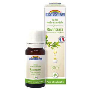 HUILE ESSENTIELLE Biofloral Perles d huile essentielle de Ravints…