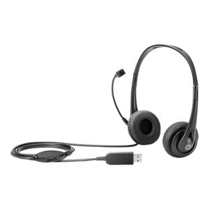 CASQUE - ÉCOUTEURS HP Casque sur-oreille USB black jack pour EliteBoo