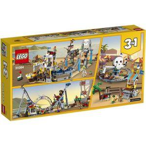 ASSEMBLAGE CONSTRUCTION LEGO® Creator 31084  Montagnes Russes des Pirates