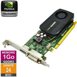 CARTE GRAPHIQUE INTERNE Carte graphique Nvidia Quadro K600 1Go GDDR3 PCI-e