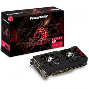 BOITIER PC  PowerColor Radeon RX 570 Red Dragon, 4096 MB GDDR5