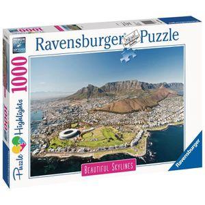 PUZZLE RAVENSBURGER - Puzzle 1000 pièces Le Cap (Puzzle H