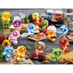 PUZZLE Puzzle 2000 pièces - Gelini : Tous en cuisine