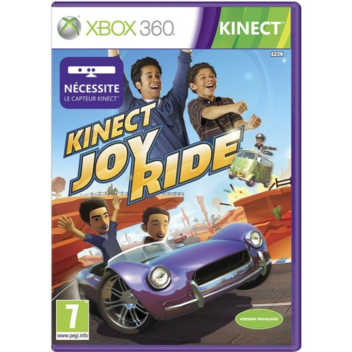 kinect joy ride jeu xbox 360 achat vente jeux xbox 360 kinect joy ride x360 cdiscount. Black Bedroom Furniture Sets. Home Design Ideas