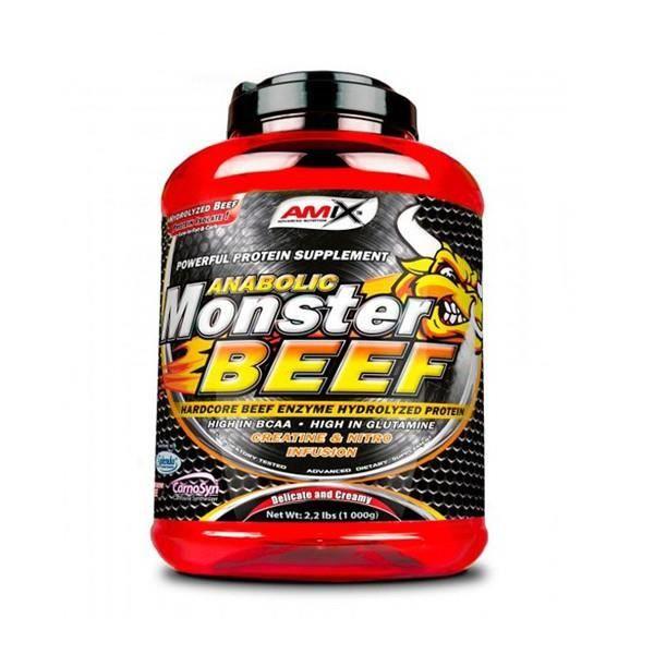 PROTEIN MONSTER BEEF 1 KG. FRUITS DES BOIS
