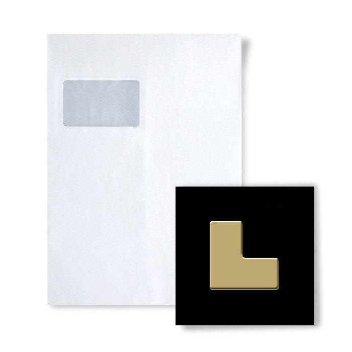 Plaquette de parement - Mosaïque ÉCHANTILLON S-Kink-Ti-GM Collection Kink Titane Gold miroir
