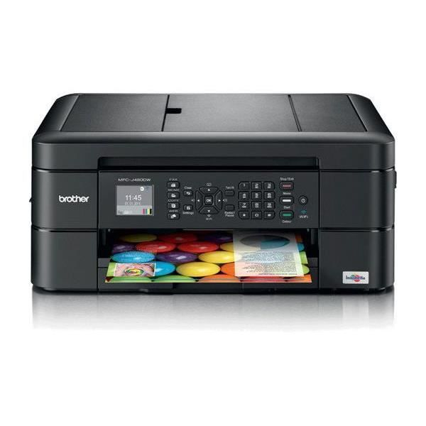 BROTHER MFC-J480DW Imprimante Multifonction - Jet d'Encre Couleur 4 En 1 Recto Verso - Ecran Lcd - Wifi Direct