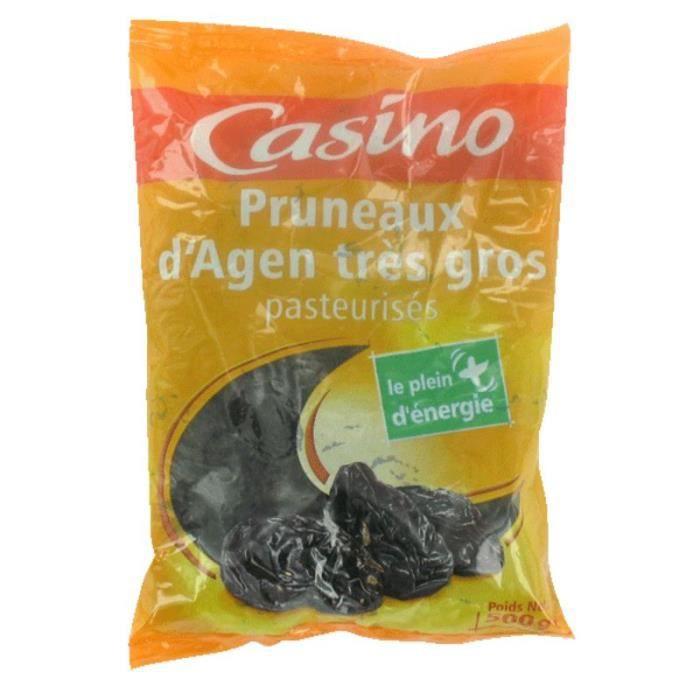 CASINO Pruneaux d'Agen sans Conservateurs - 500 g