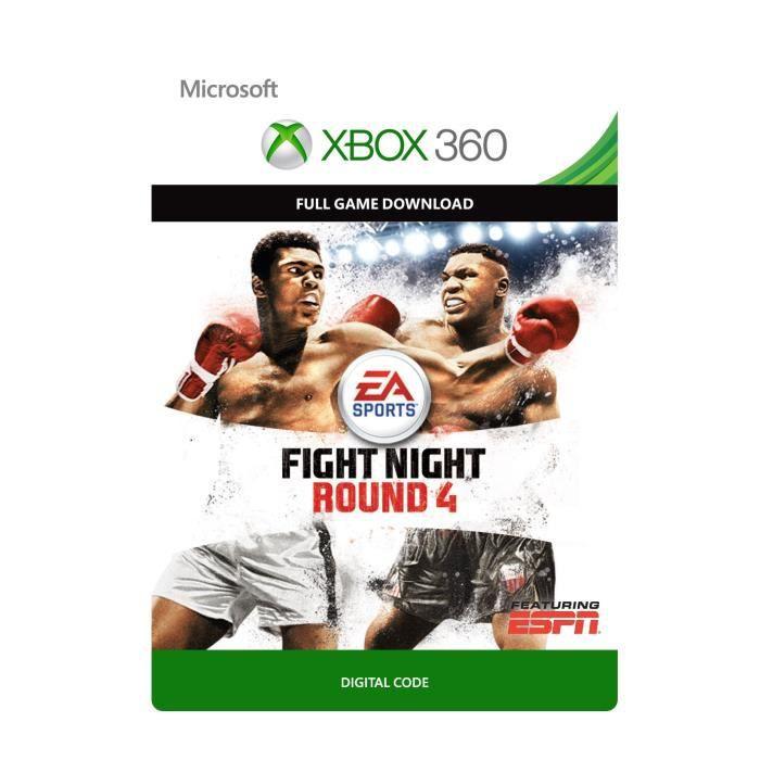 Fight Night Round 4 Jeu Xbox 360 à télécharger