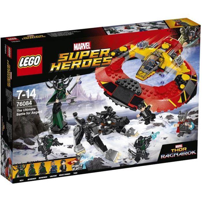 LEGO® Marvel Super Heroes 76084 - La Bataille suprême pour la Survie d'Asgard