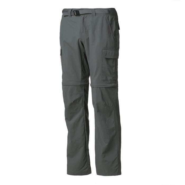 COLUMBIA Pantalon de randonnée Explorer Conv - Homme - Gris