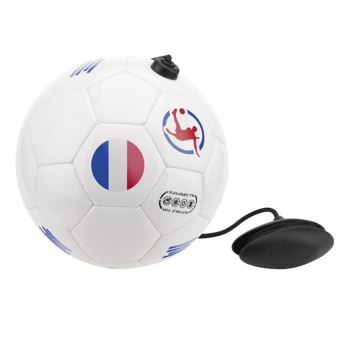 Ballon de football d'entrainement France - Ballon foot élastique