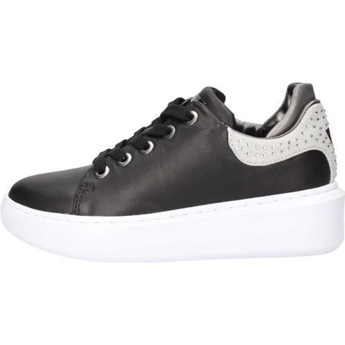 Guess FL5YL2LEA12 chaussures de tennis Femme Noir