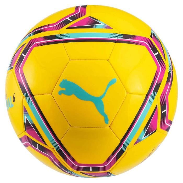 Ballon de football Puma Final 6 MS Training jaune / bleu / rouge