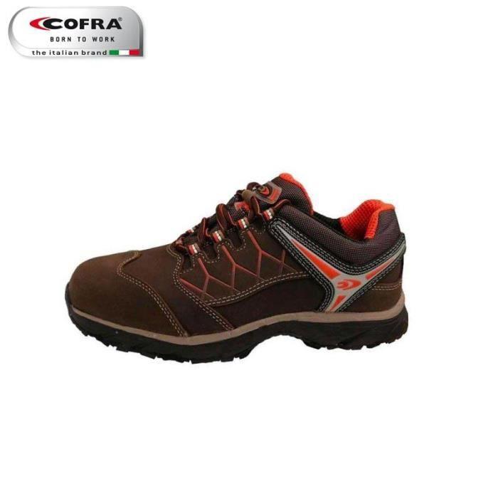 Chaussures sécurité cofra basse nubuck & textile s3 src (42)
